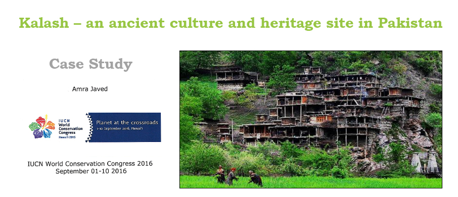 Case Study: Kalash – an ancient culture and heritage site in Pakistan